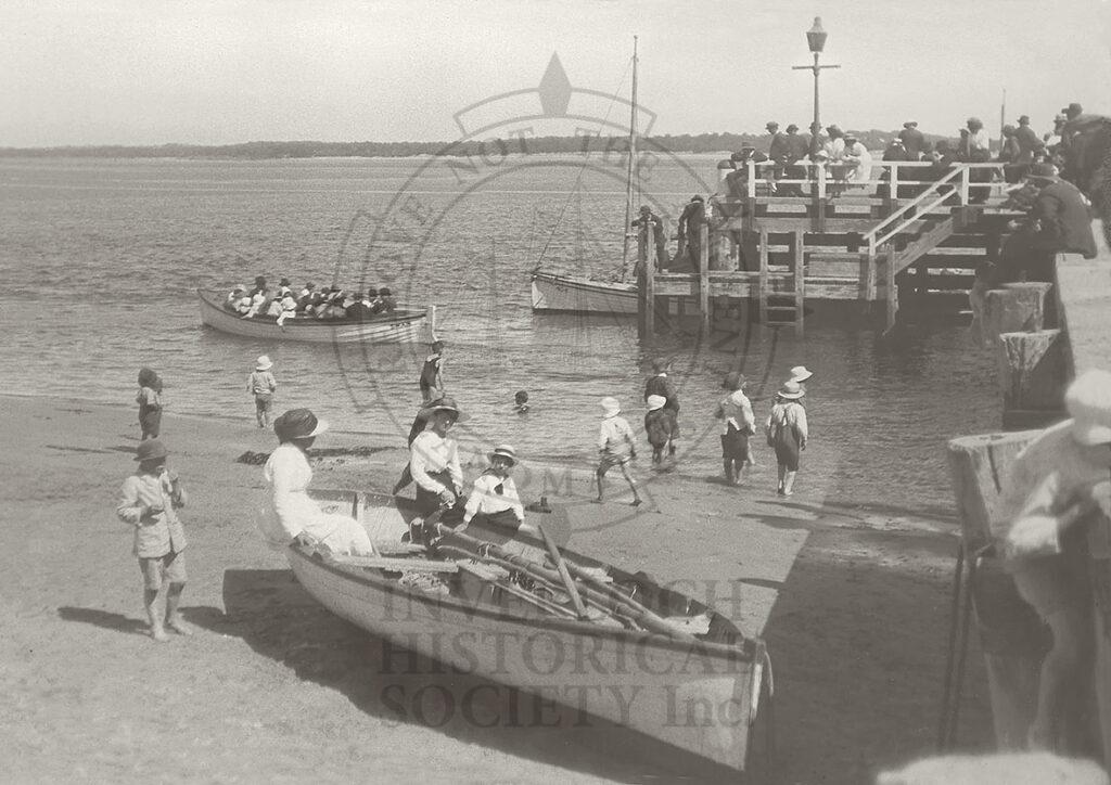 Inverloch Pier c1920 - Newsletter_243_1